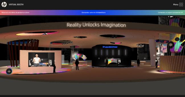 HP vous accueille sur son stand virtuel Latex 700/800
