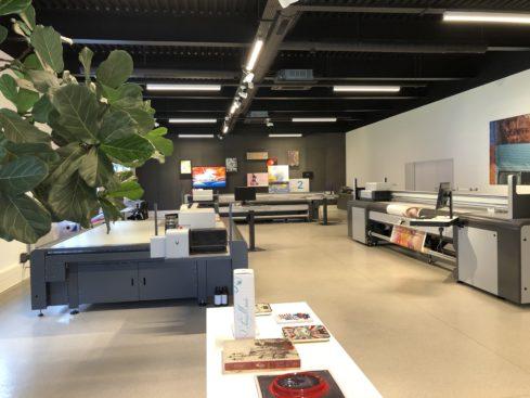 Photo showroom swissQprint