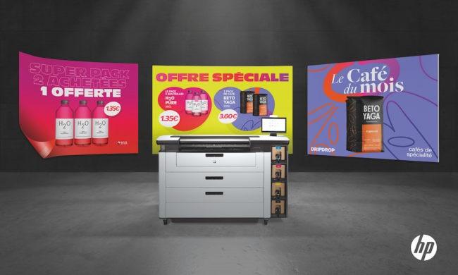 Euromedia : 3 nouvelles HP PageWide XL PRO pour une production d'affiches rentable, automatisée et durable